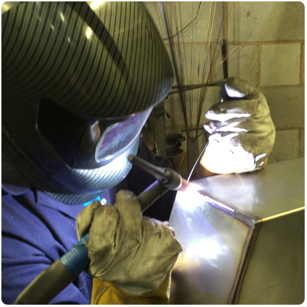How its made metal cabinet - welding