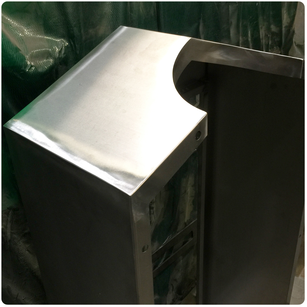 How its made metal cabinet finished polishing