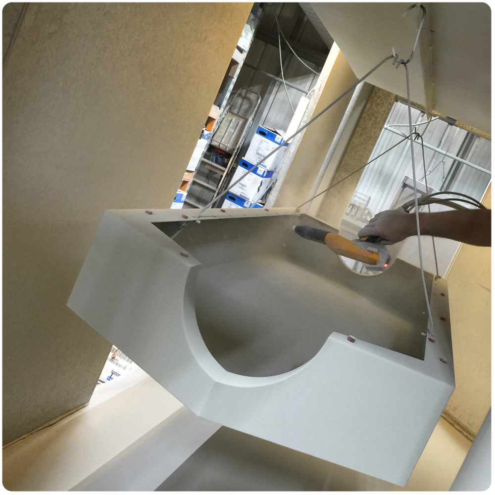 How its made metal cabinet powder coating spray