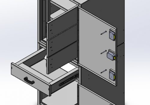 Case study: Large Security Cabinet And Safe - CAD Phase