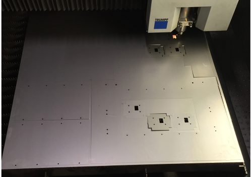 Case study: Large Security Cabinet And Safe - Laser Cutting