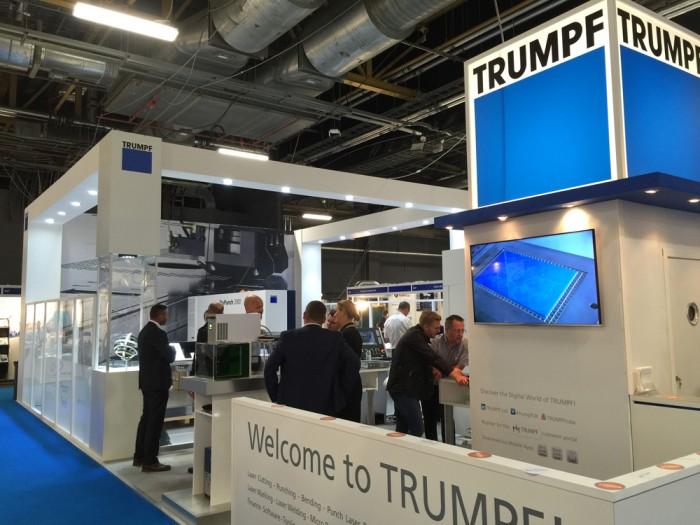 Trumpf Stand - North Manufaturing Show 2015