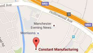 Constant Manufacturing Location