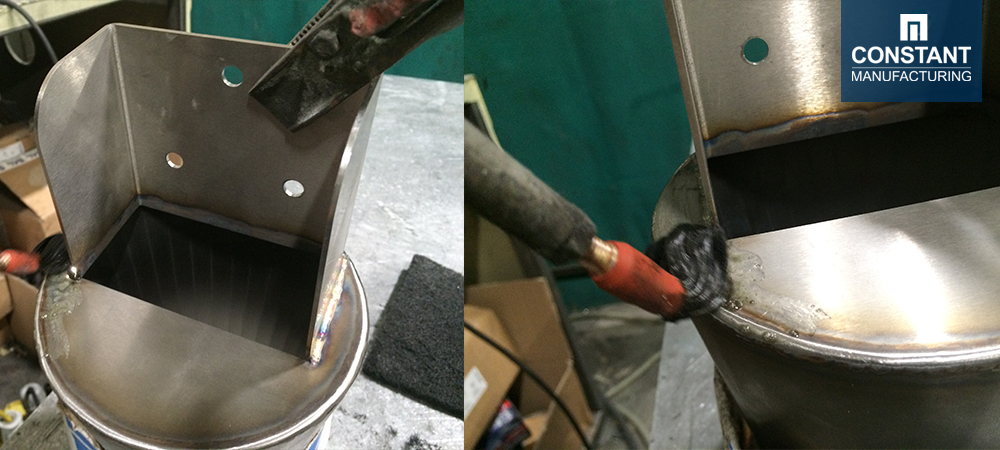 Polishing - Metal Food Funnel