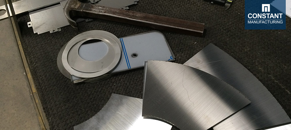 Press Brake - Metal Food Funnel