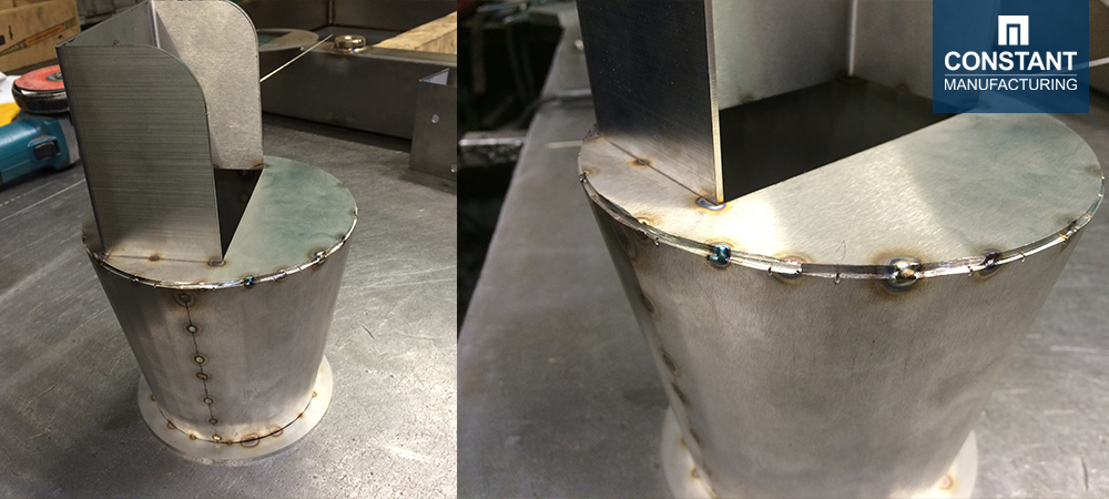 Manufacturing Metal Food Funnel