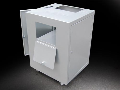 Assembled metal cabinet