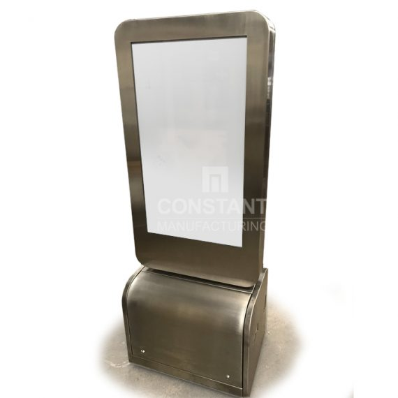 Freestanding Touchscreen POP Display