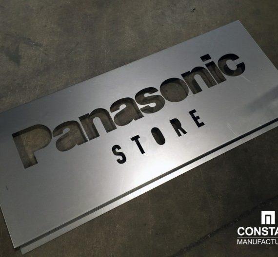 Laser cut signage
