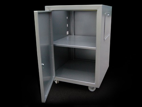 Secure medical movable cabinet