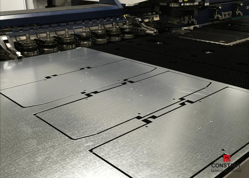 Electrical Box Case Study: Cut Parts