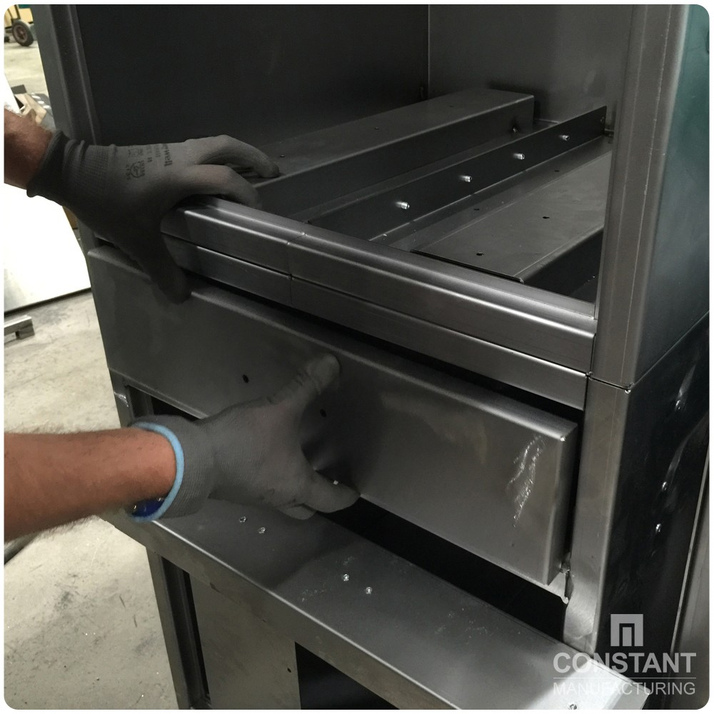 Case study: Large Security Cabinet And Safe - Drawer