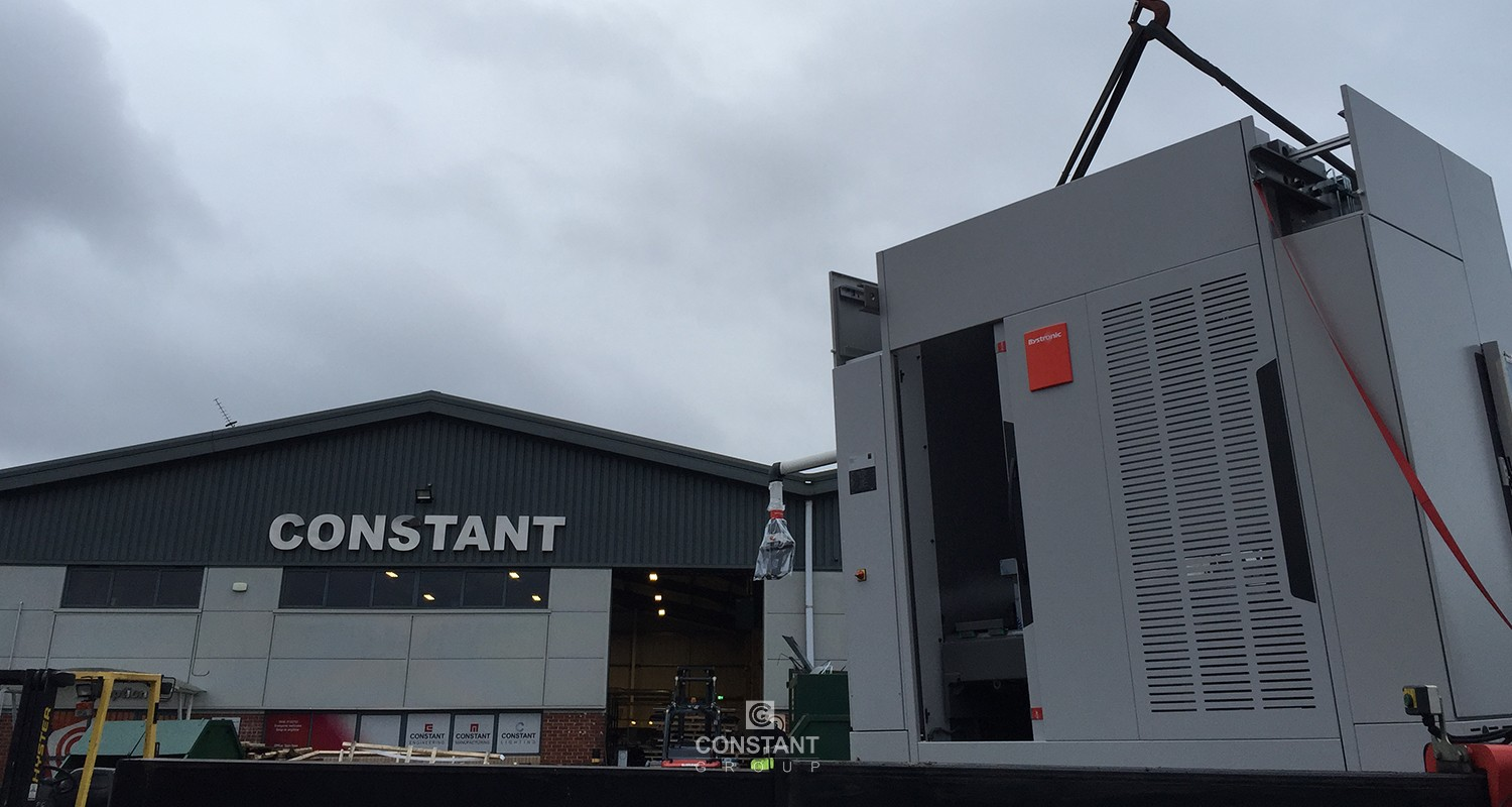 Press Brake Delivery - Bystronic