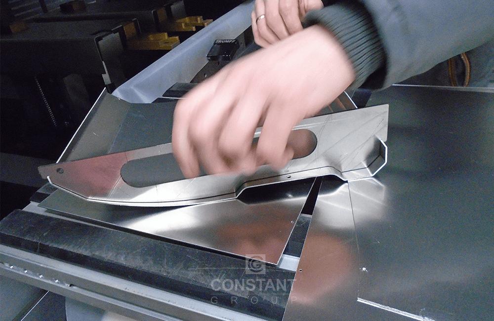 Machine Metal Panel - Press Brake Testing