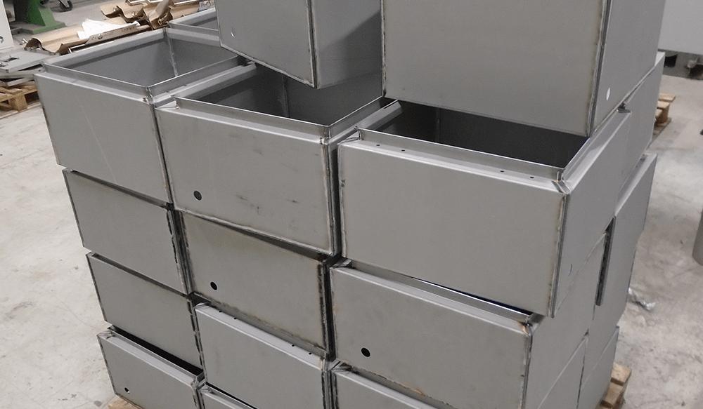 Defib Cabinet Metalwork