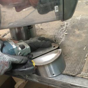 Grinding, linishing and polishing