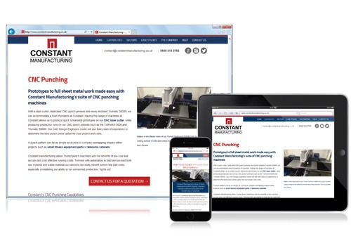 Press Release: On-the-Go with Constant Manufacturing's New Website