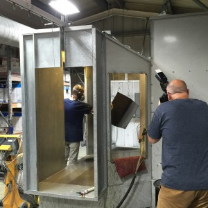 Powder Coating Department - Booth