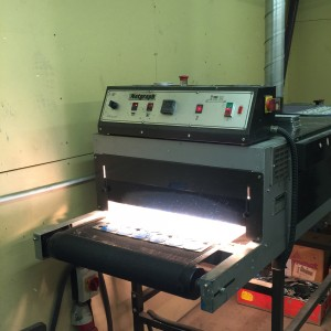 Screen Printing Department Ovens