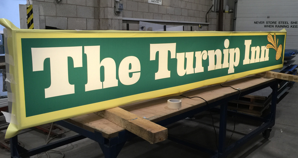 Turnip Inn Sign