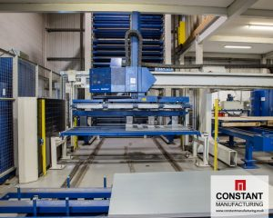 Our STOPA Sheet metal storage system