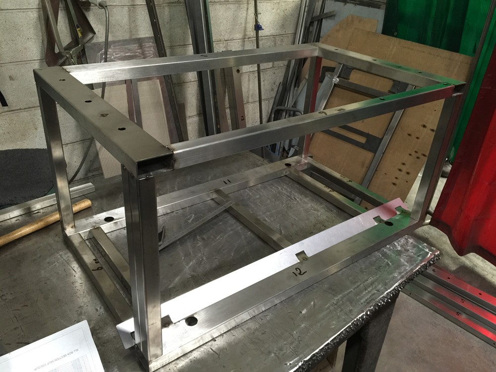 Box section frames