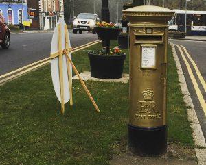 Bradley Wiggins' Post Box