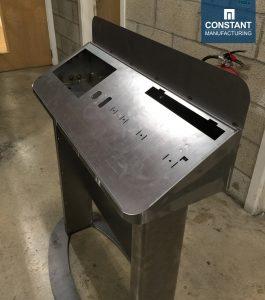 Manufacturing Freestanding Metal POS Display