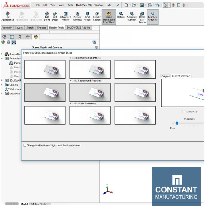 Solidworks 3D Manufacturing