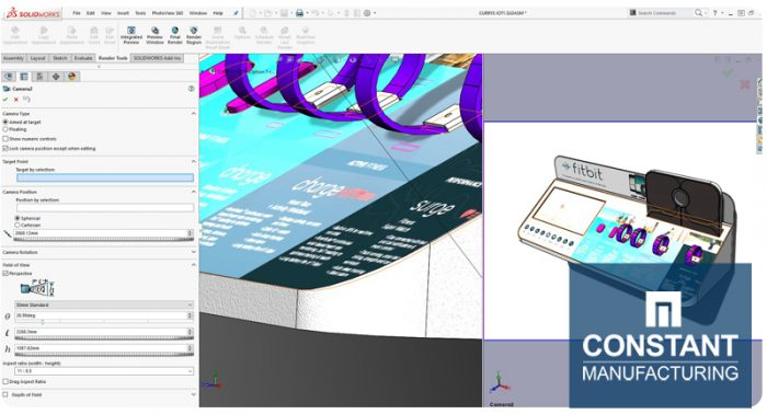 Solidworks Rendering Tools and Views