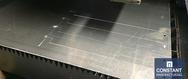 Computer Hardware Bracket Laser Cutting