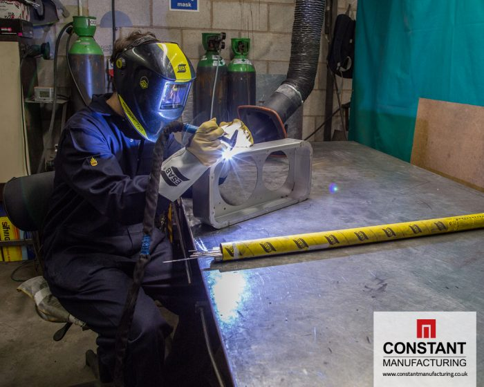 Welding and fabricating at Constant