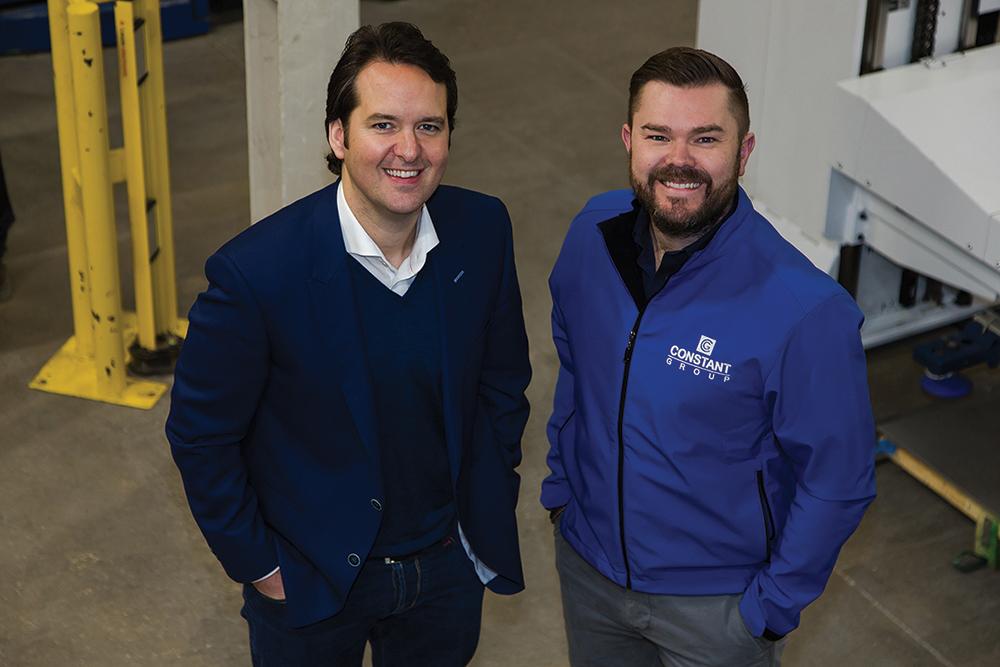 Matt Garlick, Managing Director with David Gilligan, Operations Manager