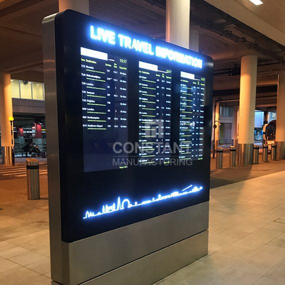 Airport Information Totem Display
