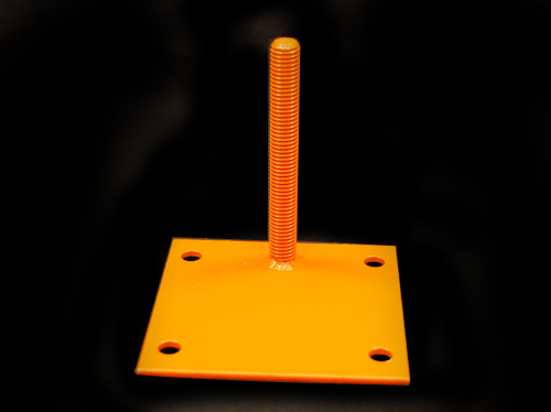 Fabricated inserted screw