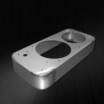 Detailed sheet metal fabrication