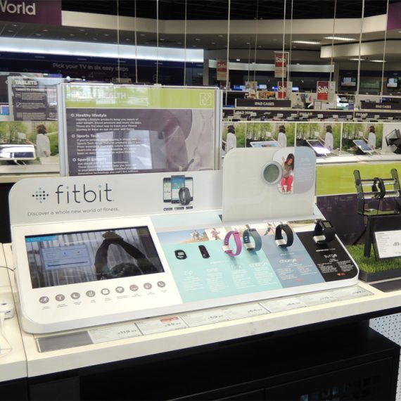 Retail POS Display in Situ