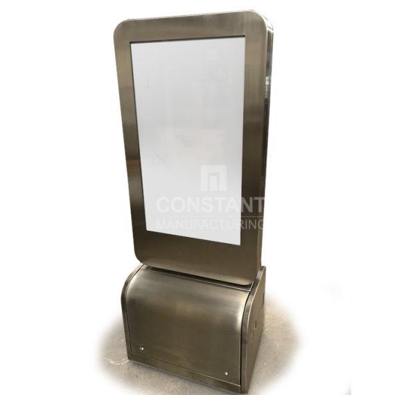 Freestanding Touchscreen POP Display