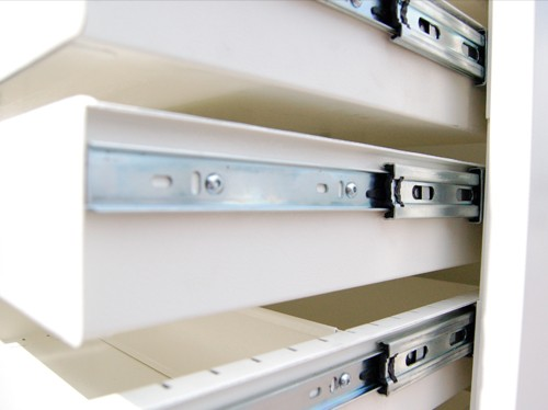 Fully assembled drawer units