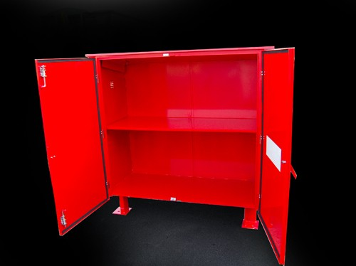 Large site storage cabinet