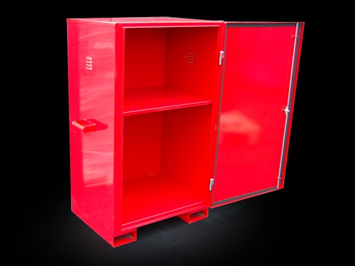 Manufactured secure cabinet
