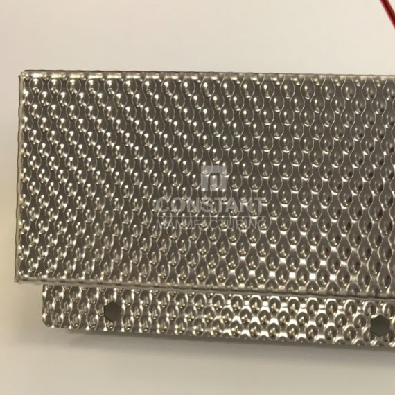 Patterned Stainless Steel Plate