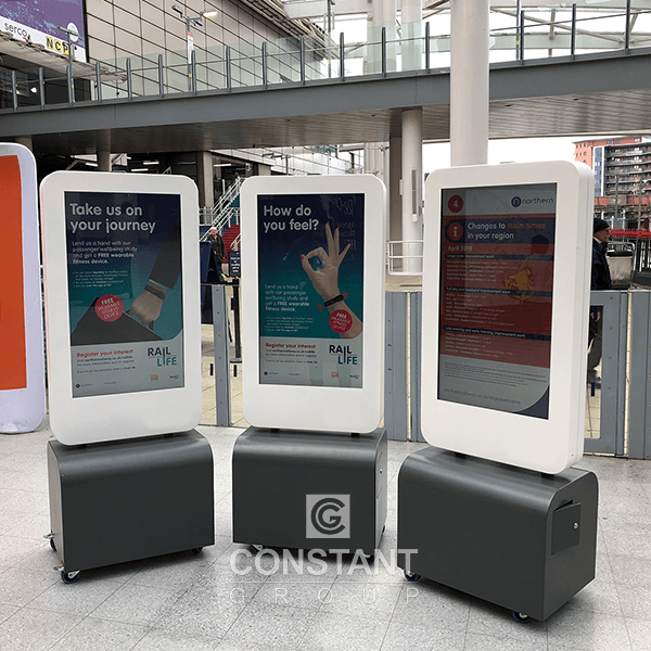 Mobile Totem Retail Display