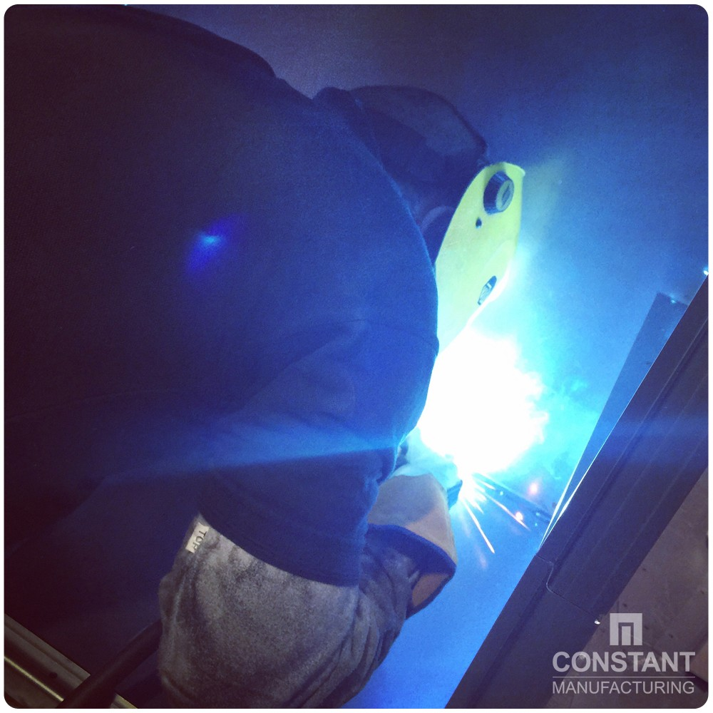 Case study: Large Security Cabinet And Safe - Welding
