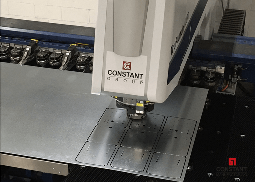 Electrical Box Case Study: Cutting