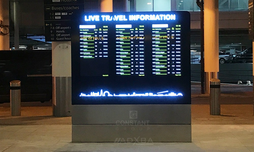 Manufacturing Gatwick Information Display