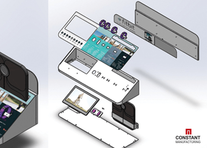 POS Display: CAD Design