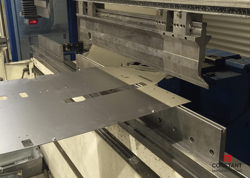 POS Display: Press Brake