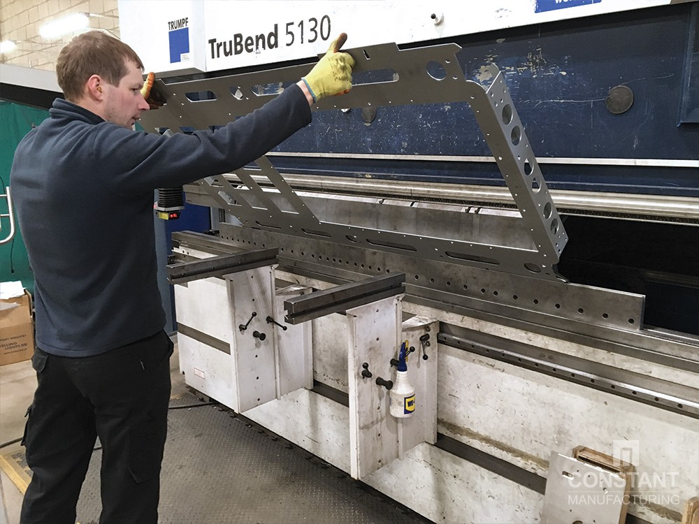 DOOH Case Study: Press Brake Bending