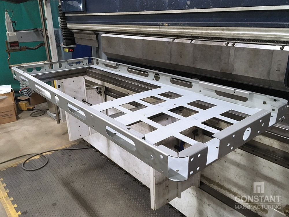 DOOH Case Study: Finished Press Brake Bending